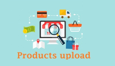 50 Products uploading in woo commerce store or any online store