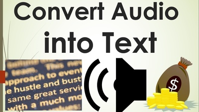 Provide Quality transcripts for English Audio/ Video upto 10 Min