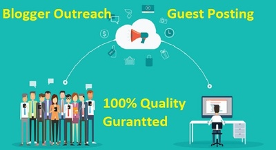 Do Blogger Outreach Service, Quality Niche Guest Post Placement