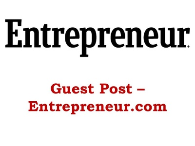 Write and publish article in entrepreneur