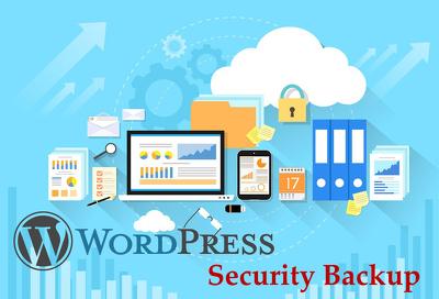 Do WordPress security backups