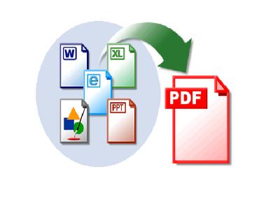 Create word file/ppt file to editable PDF file