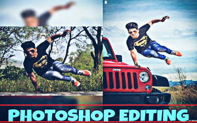 Edit your photo in adobe photoshop for $10