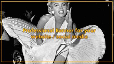 Design professional banner/graphic for your website/social media