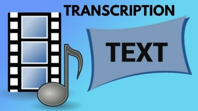 Do audio/video transcription for 1 hour