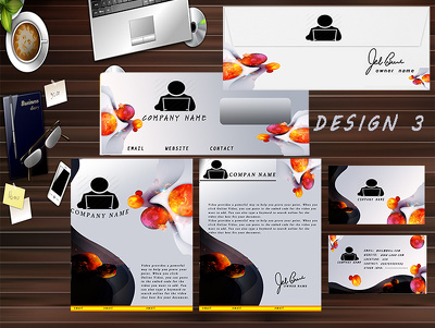Design unique & professional stationery pakage  in 24hours