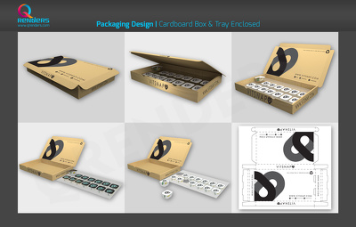 Do product branding (Packaging)