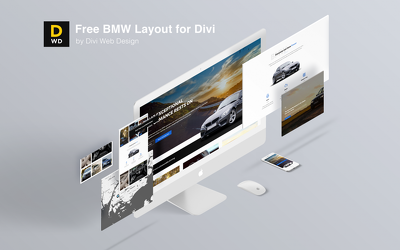 Create a modern website using Divi Theme - Up to 10 Pages