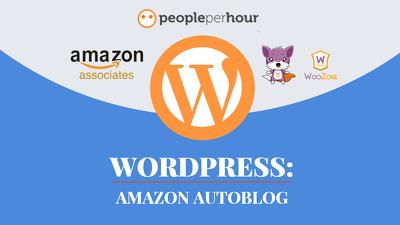 Create Amazon Autoblog Affiliate Website