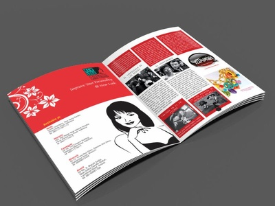 Design a Booklet, Magazine upto 32 pages