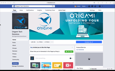 Design you a wonderful professional business facebook page