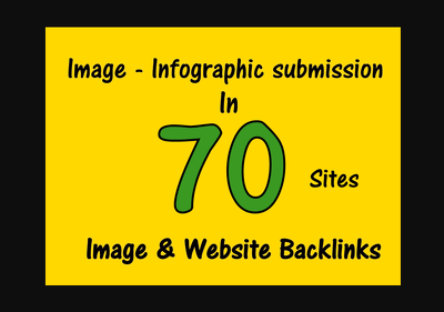 Submit Your Image Or Infographic To 70 Image Submission Sites