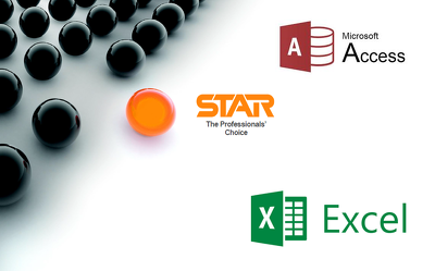 Use data from STAR Payroll to produce a report in Access / Excel