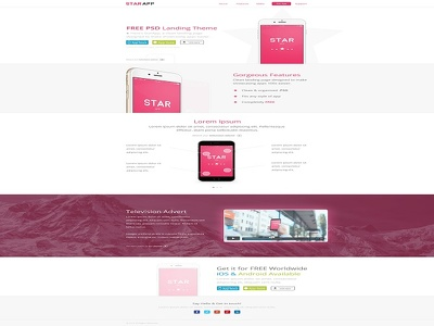 Design awesome landing page for you