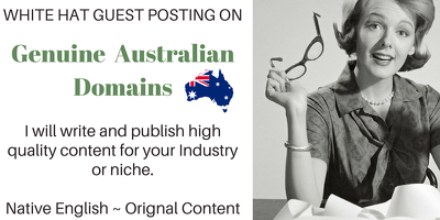 Write and Publish on Australian Sites