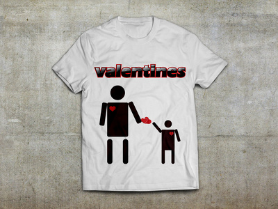 Design Awesome Valentine T-Shirt only for $10