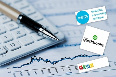 Do one hour of accounting in Quickbooks, Xero, SAGE, ZOHO, Excel