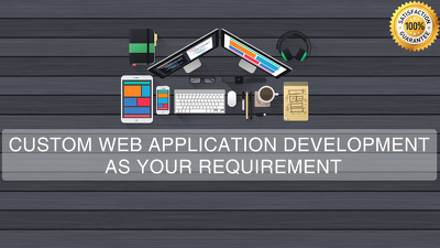 Create custom website or web application for your business