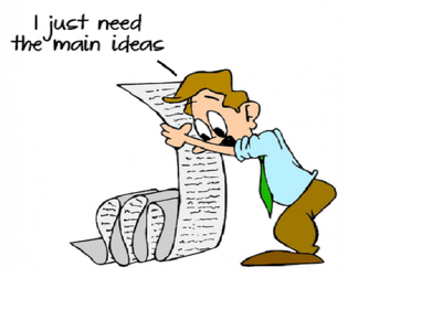 Help you save time and energy by summarizing a 10 page article