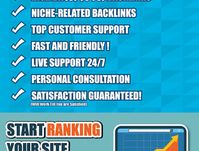 SEO 2018 ★ HIGH QUALITY MANUAL LINK BUILDING CAMPAIGN ★
