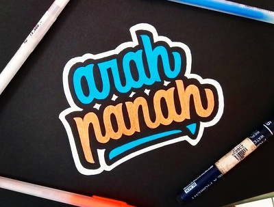Make your logo in unique fonts a.k.a handlettering