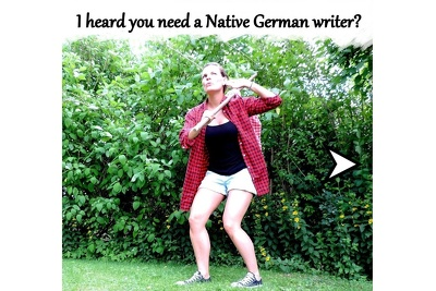 Unique German Content written by native German Writer