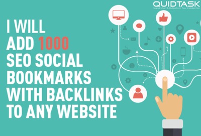 Create 1000 Social Bookmarks with backlinks
