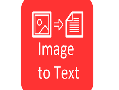 Convert image text into word file