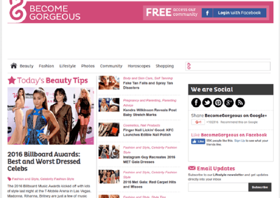 Do Guest Post On BecomeGorgeous  DA60 Beauty And Fashion Blog