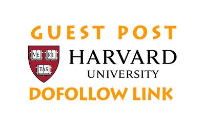 Guest Post on Harvard.edu With a Dofollow Link, DA94