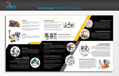Design creative and unique brochure and flyer