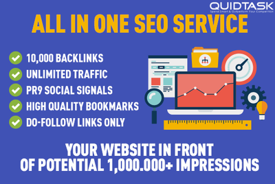 ⭐ SEO and Social Media Marketing ⭐ 100,000+ SOCIAL SIGNALS MIX ⭐