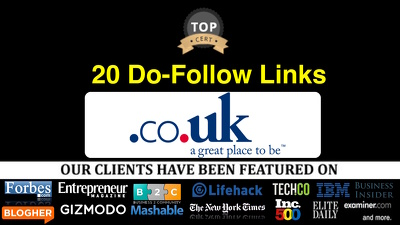 20 Links From UK Newspaper The Mirror + .co.uk domains