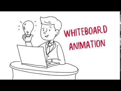 60 secs Professionnal Whiteboard Animation + FREE VOICEOVER