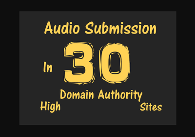 Do Audio Submission To Top 30 Audio Sharing Sites