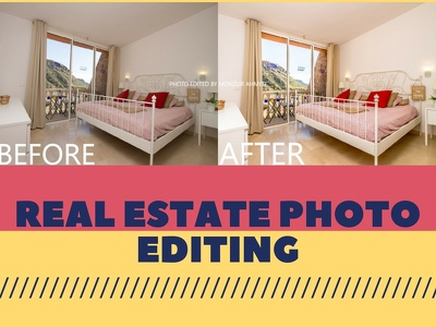 Edit up to 20 real estate photos