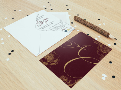 Design your wedding invitation card