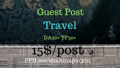 Travel Niche Guest Posting
