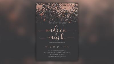 Design any event invitation