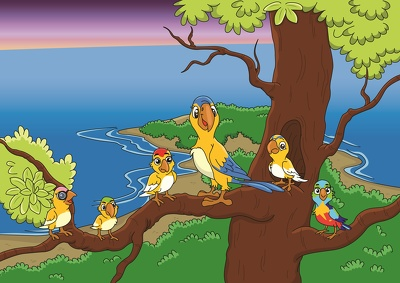 1 children book illustration