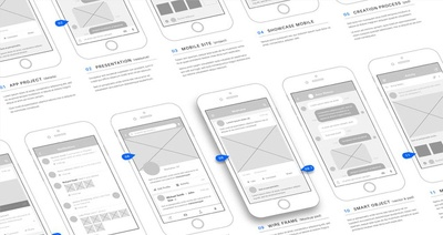 Create wireframe for your project