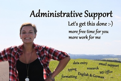 Be your Virtual Administration Assistant and make you happy