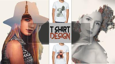 Design eye catching T shirt design