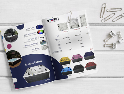 Design customized brochures to your company