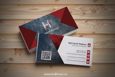 Make an exclusive & smart business card design