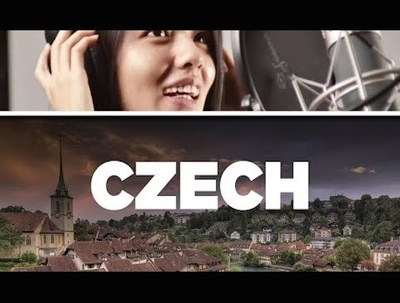 Record up to 30 words of voice over in Czech male/female