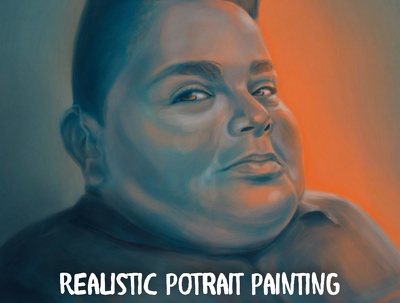 Create a Realistic Portrait Painting