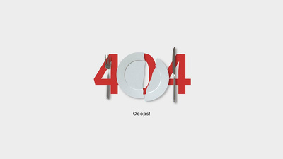 Design conceptual 404 error page for your website