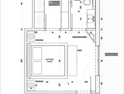 Design your room, kitchen, bathroom, etc. floorplan layout.