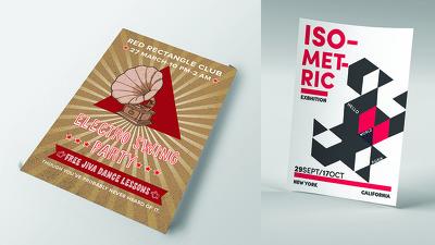 Design professional Flyer / Leaflet / Poster / Brochure.